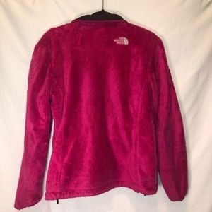 Pink NorthFace jacket